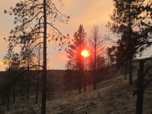 Sunrise over Chiliwist Valley