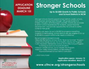 Stronger Schools Brochure