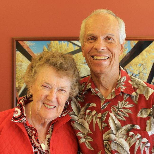 """""""We support a number of charitable organizations through the foundation. By gifting shares of appreciated stock to one place, we can easily designate where we want our gifts to go."""" -Earl and Barbara Tilly"""